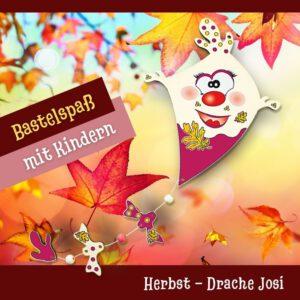 Colle Herbst Bastelideen - Holzfigur Drache Josi