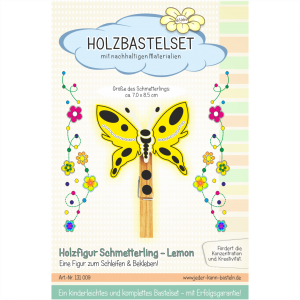 Schmetterling Lemon