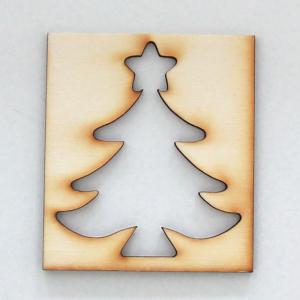 Schablone Weihnachtsbaum