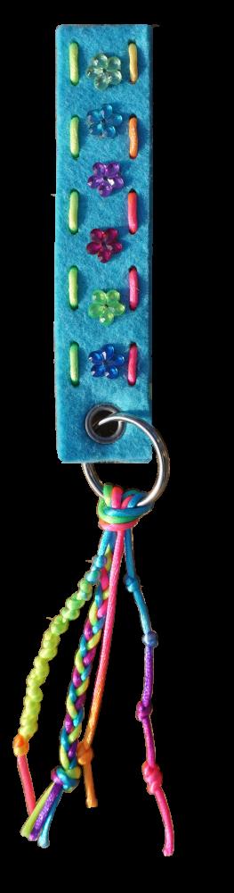 Schlüsselanhänger hellblau