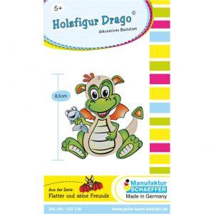 Holzfigur Drago
