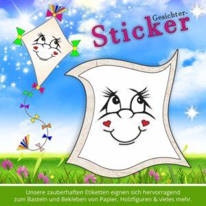 Sticker für Kinder ♥ Gesicht lächelnd