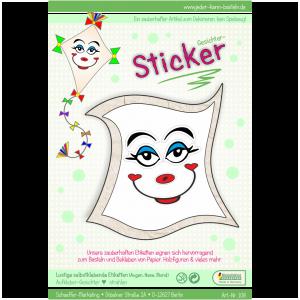 Sticker Gesichter strahlen