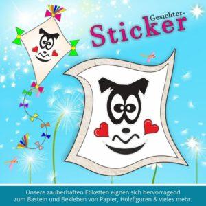 face for sticker ♥ Sticker-Gesichter verliebter Trottel