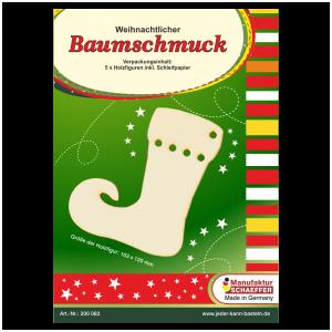 Baumschmuck Nikolausstiefel