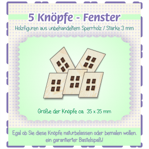 Fenster - Knöpfe